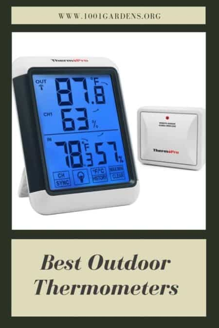Best Outdoor Thermometers 2019 (updated)