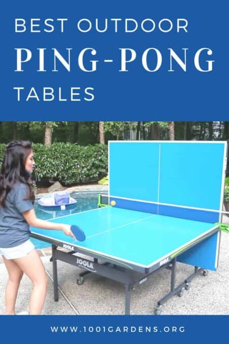 Best Outdoor Ping Pong Table 2018