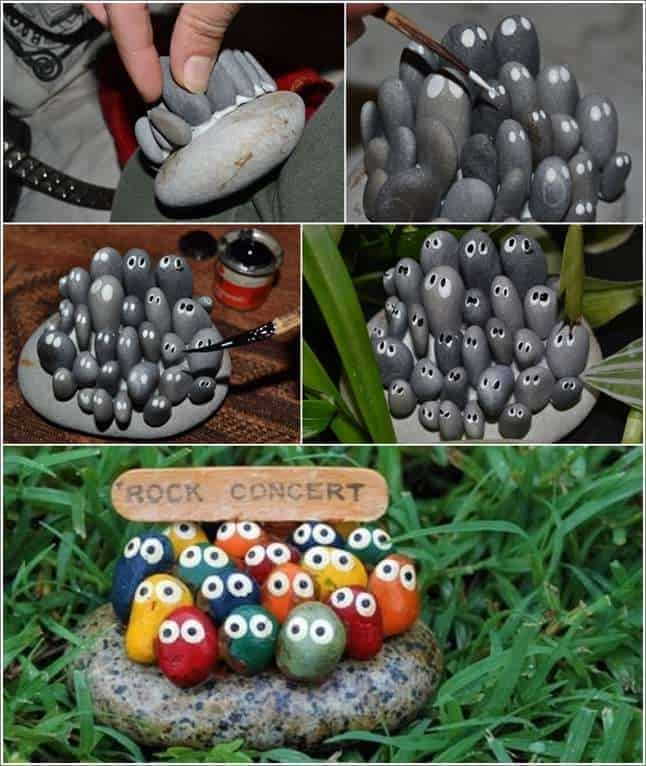 Let's Rock It: 5 Whimsical Garden Decor Ideas with Stones and Rocks