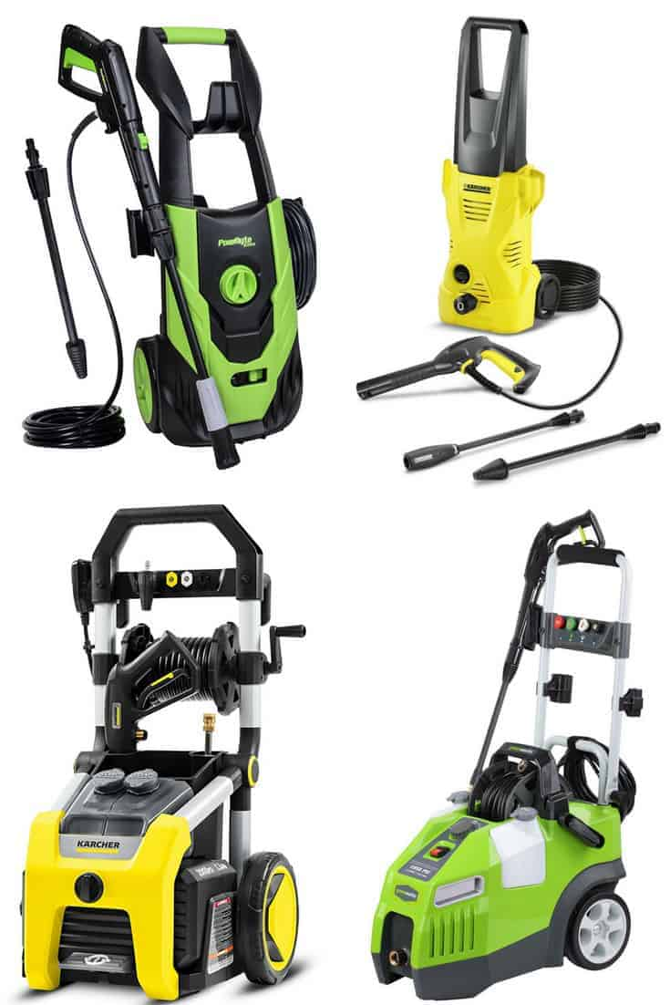 Best Electric Pressure Washer 2018 Reviews