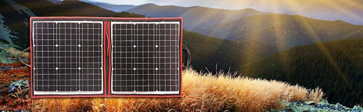 DOKIO 80 Watts 12 Volts Monocrystalline foldable Solar Panel
