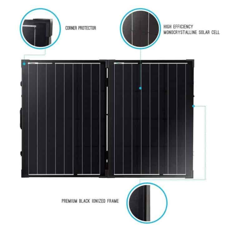 Best Foldable Portable Solar Panel Chargers for Camper - patio-outdoor-furniture