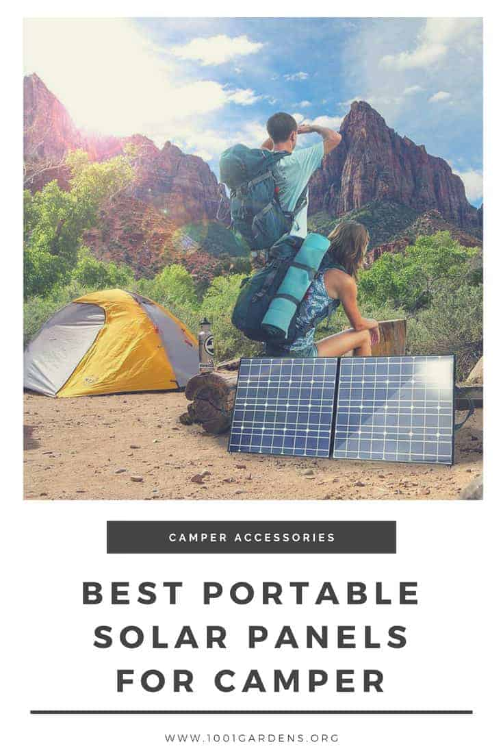 Best Foldable Portable Solar Panel Charger for Camper