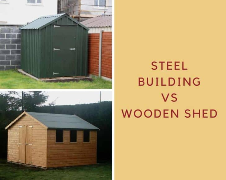 Why You Should Choose A Steel Building Over a Wooden Shed 1 - Sheds & Outdoor Storage - 1001 Gardens