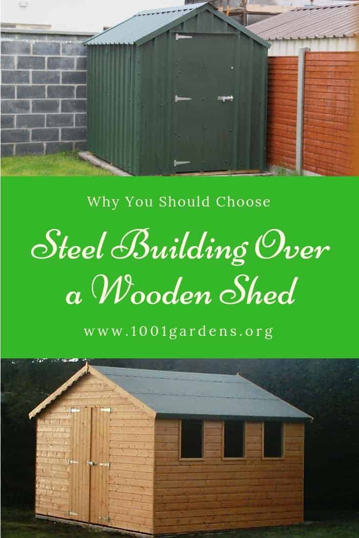 Why You Should Choose A Steel Building Over a Wooden Shed