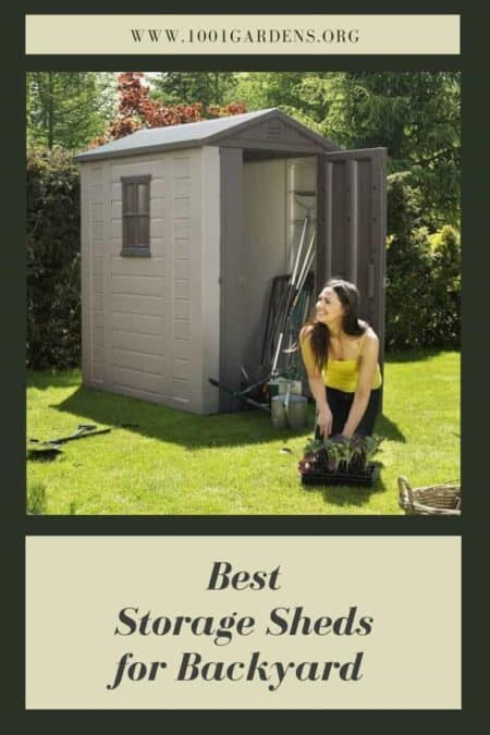 Best Outdoor Storage Sheds for Backyard Garden