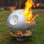 Steel Star Wars Death Star Fire Pit
