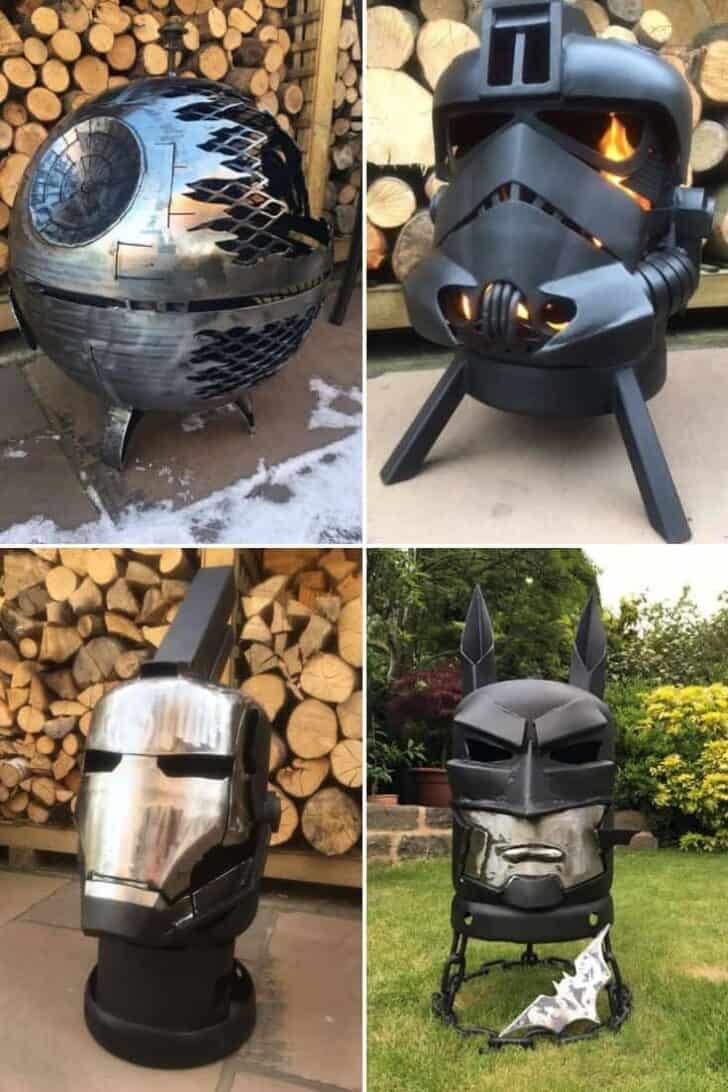31 Best Star Wars, Comics and Earth Fire Pits