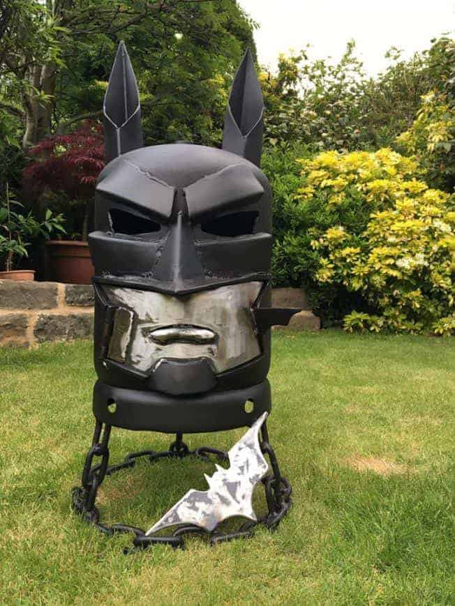 Batman Wood Burner Fire Pit