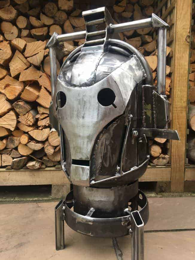 Cyberman Wood Burner