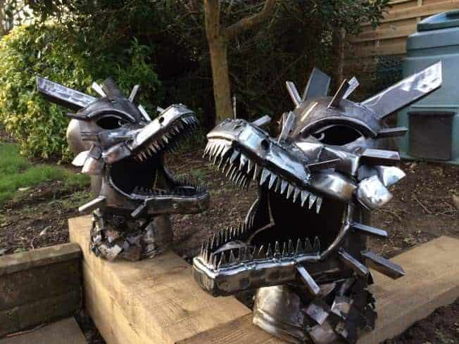 Dragon Wood Burner Fire Pit