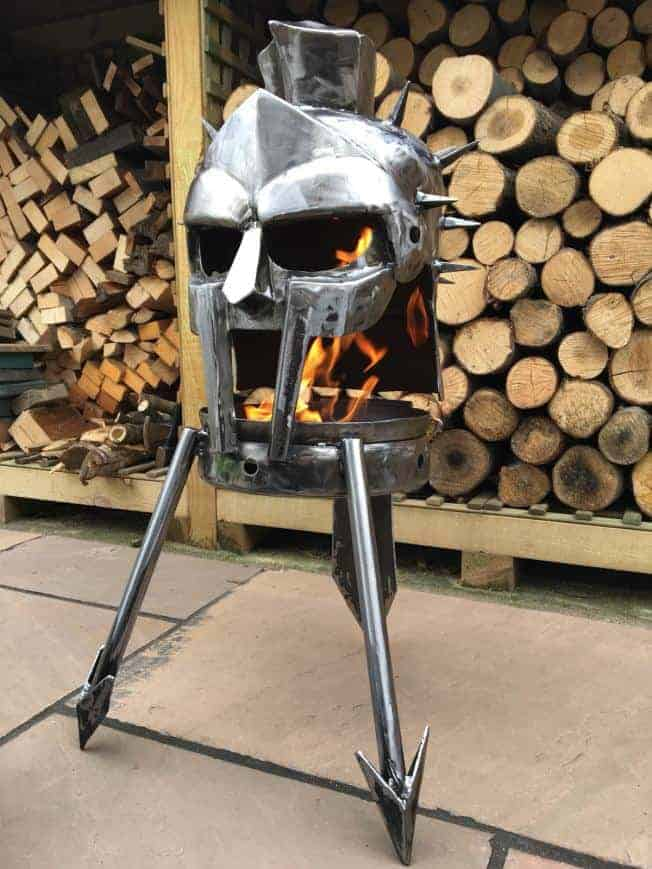 Gladiator outdoor wood burner Fire Pit