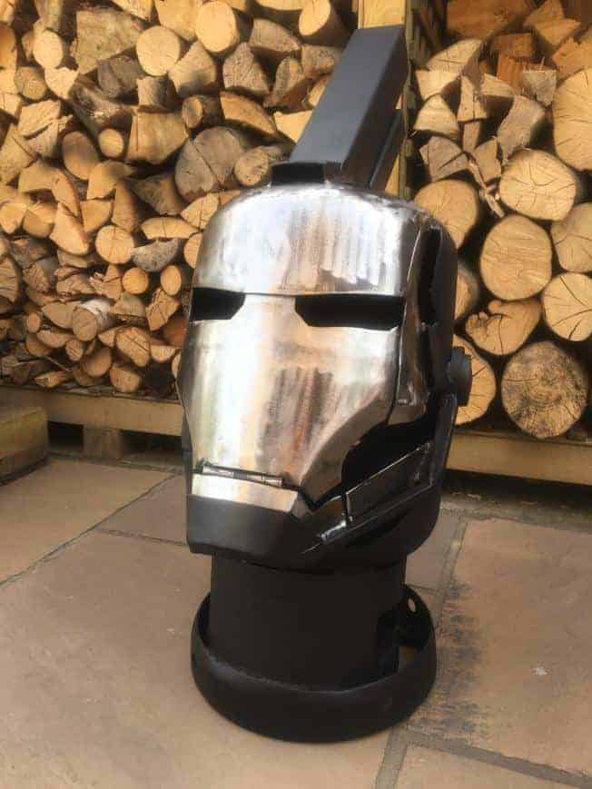 Ironman / War Machine Burner Fire Pit