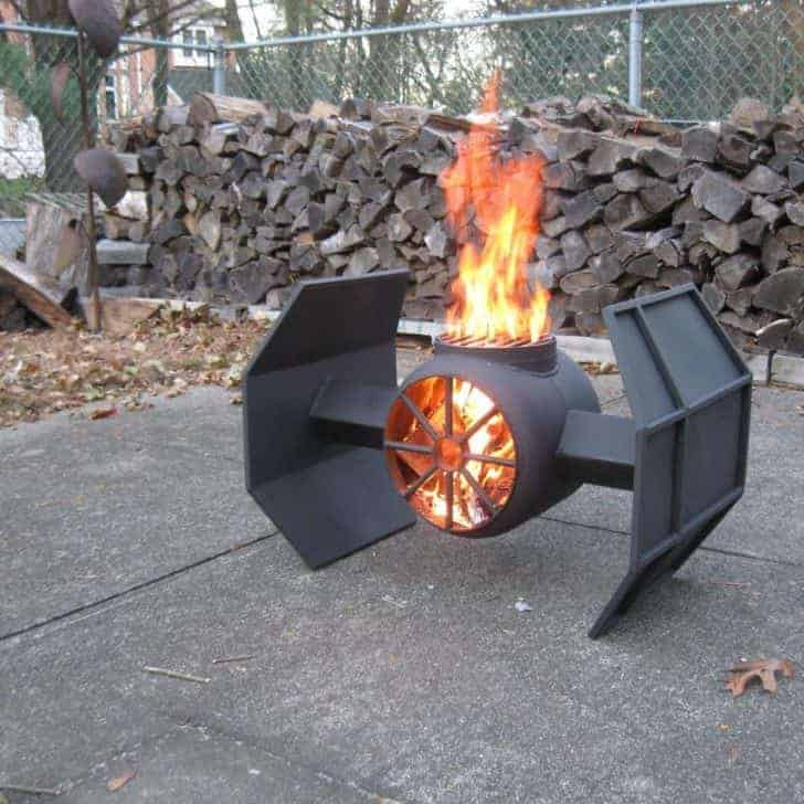 Other Tie Fighter Fire Pit