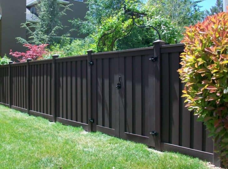 Wood Fence Alternatives: Vinyl and Trex Fencing 3 - Privacy Fences & Garden Gates