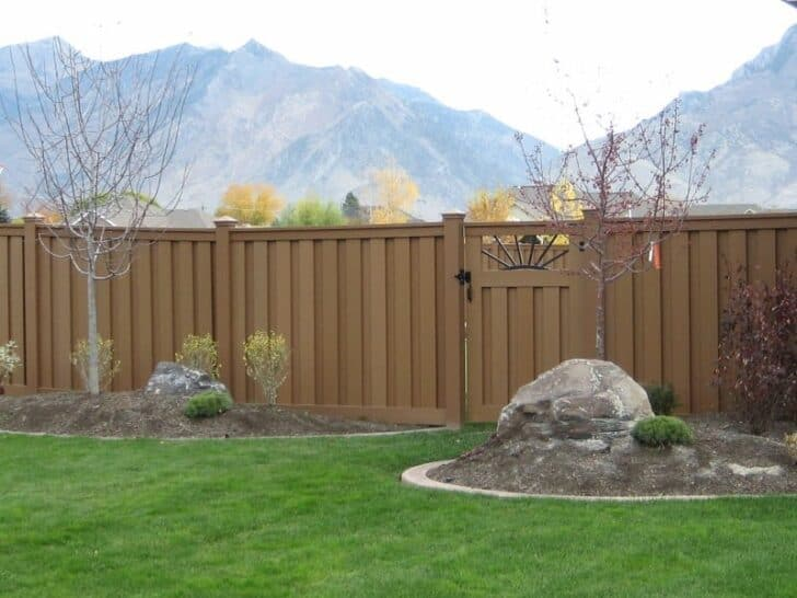 Wood Fence Alternatives: Vinyl and Trex Fencing 5 - Privacy Fences & Garden Gates