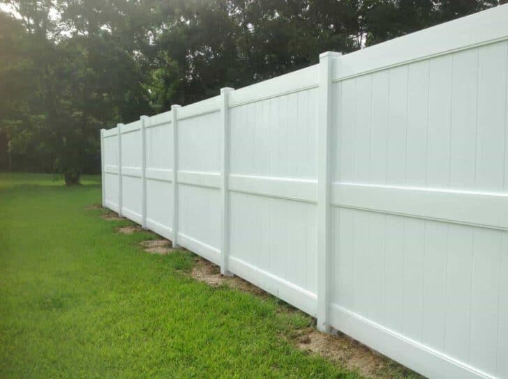 Wood Fence Alternatives: Vinyl and Trex Fencing 7 - Privacy Fences & Garden Gates