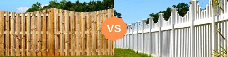 Wood Fence Alternatives: Vinyl and Trex Fencing 1 - Privacy Fences & Garden Gates