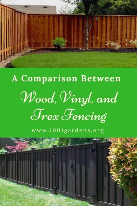 A Comparison Between Wood, Vinyl, and Trex Fencing 6 - Privacy Fences & Garden Gates - 1001 Gardens