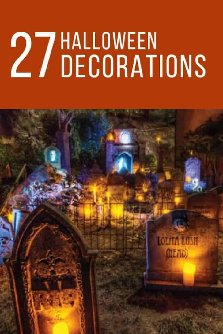 27 Best Outdoor Halloween Decorations