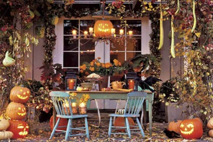 27 Best Outdoor Halloween Decorations 75 - Garden Decor
