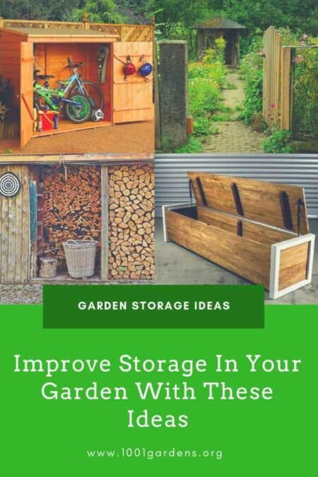 Improve Storage In Your Garden With These Ideas 1 - Sheds & Outdoor Storage - 1001 Gardens