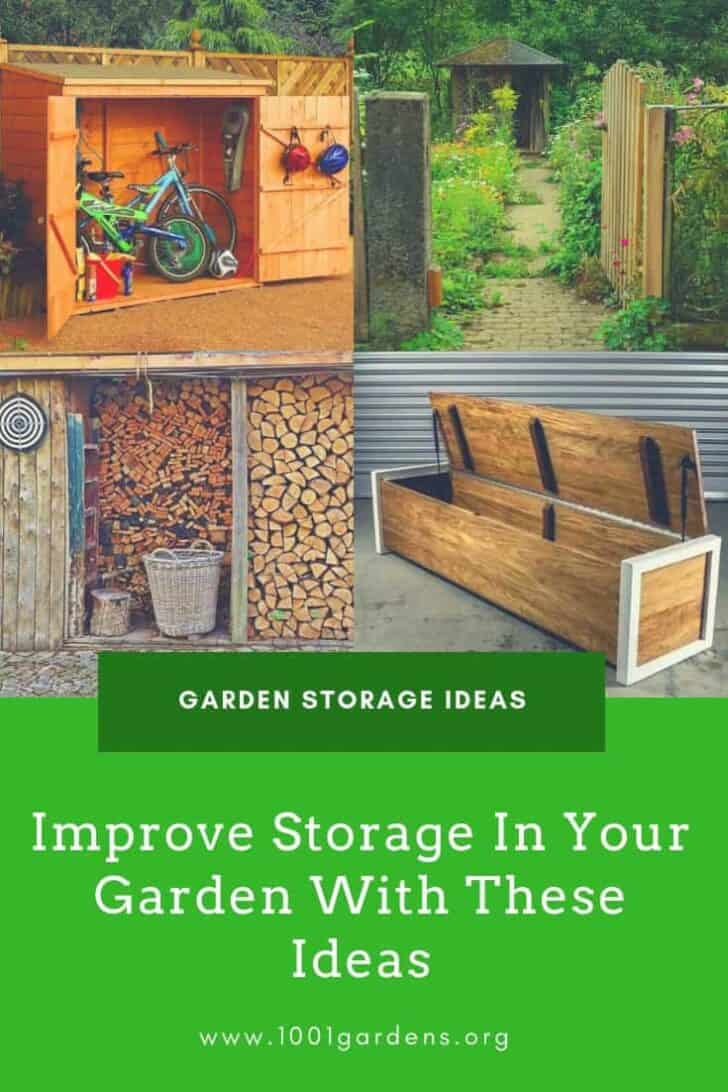 Improve Storage In Your Garden With These Ideas 4 - Sheds & Outdoor Storage