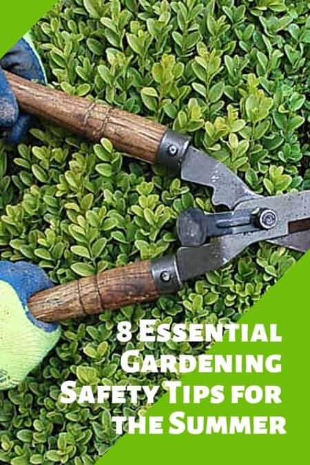 8 Essential Gardening Safety Tips for the Summer 6 - Garden Tools - 1001 Gardens