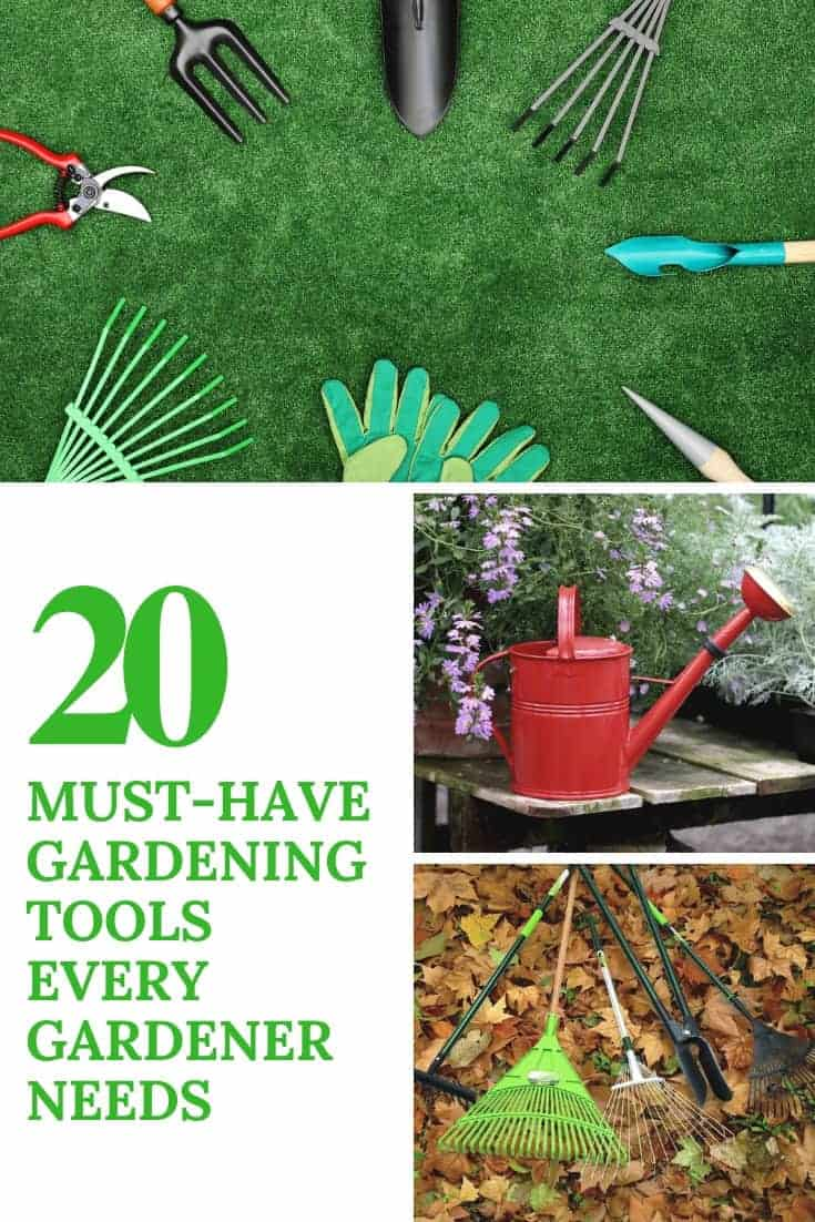 20 Must-Have Gardening Tools Every Gardener Needs: The Complete list