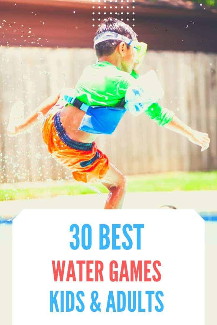 Take a few ideas from our water games to have fun in the garden this summer and keep the kids busy during the holidays!
