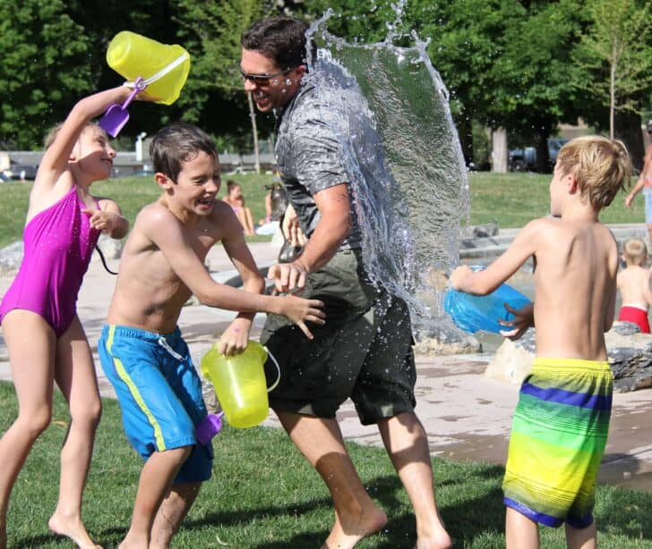 Best Water Games for Kids Adults