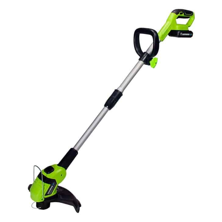 Earthwise LST02010 20-Volt 10-Inch Cordless String Trimmer