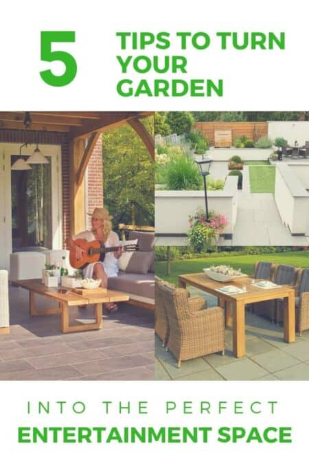5 Tips to Turn Your Garden into the Perfect Entertainment Space 11 - Garden Decor