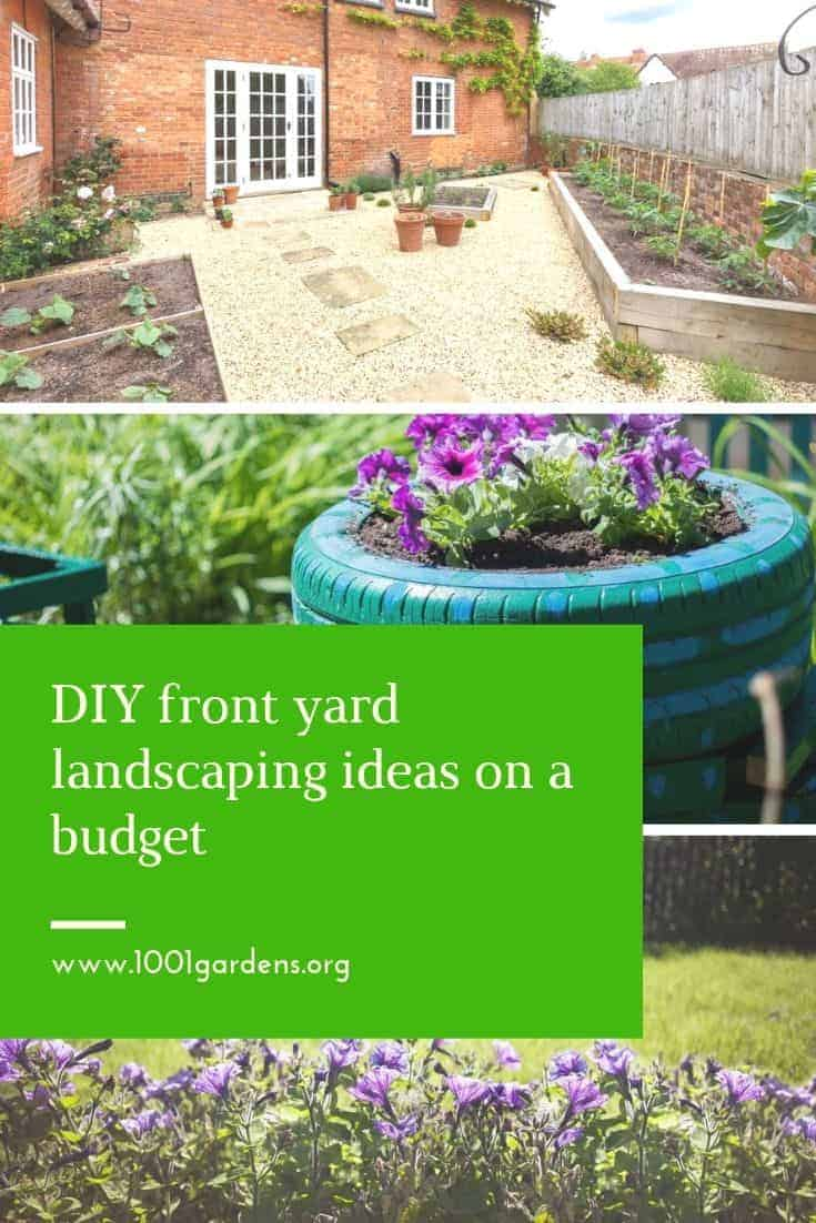 Diy Front Yard Landscaping Ideas On A Budget 1001 Gardens