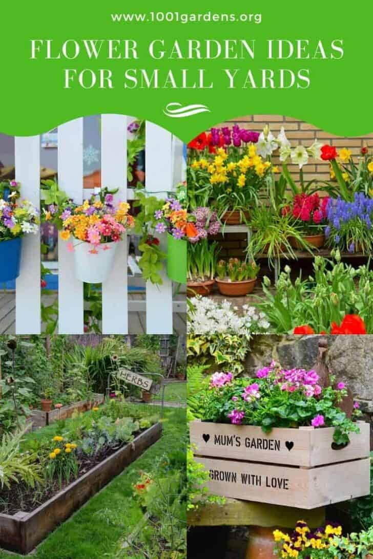 Flower garden ideas for small yards 101 - Flowers & Plants