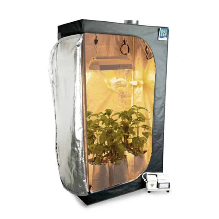 The Grow Tent Set-Up and Why You Should Use a Fan 2 - Urban Gardens & Agriculture - 1001 Gardens