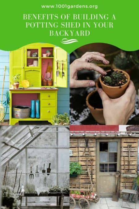 Benefits Of Building A Potting Shed In Your Backyard 1 - Sheds & Outdoor Storage