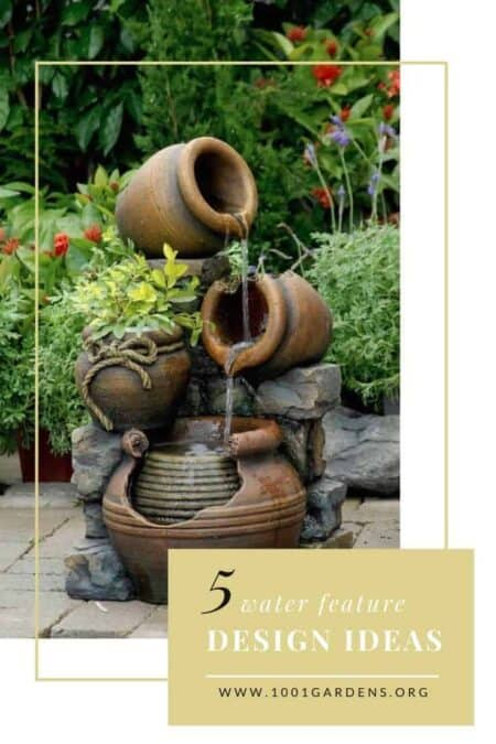 5 Water Feature Design Ideas 5 - Garden Decor