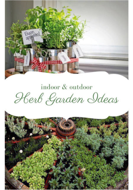 24 Herb Garden Ideas Outdoor and Indoor