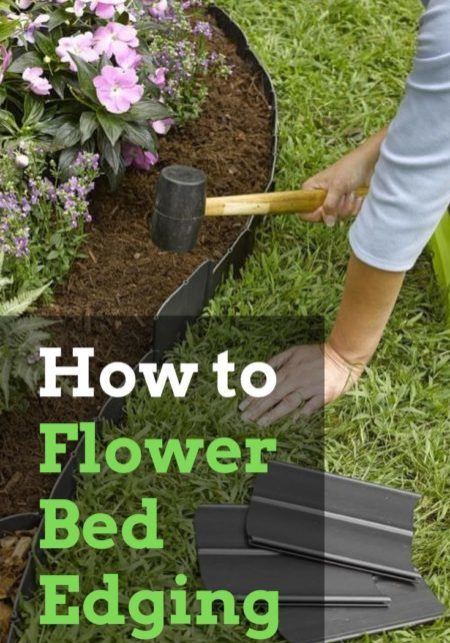 How to Flower Bed Edging - Full Guide