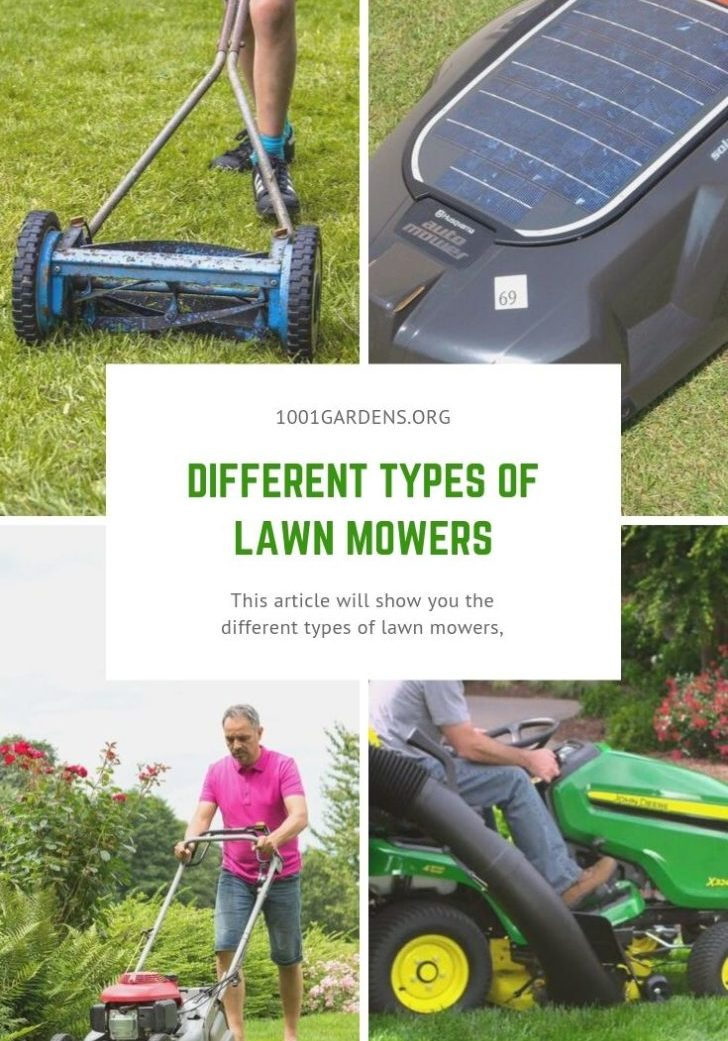 Different Types of Lawn Mowers
